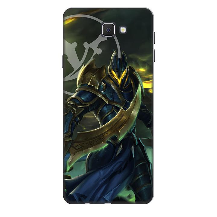Ốp lưng nhựa cứng nhám dành cho Samsung Galaxy J7 Prime in hình Nakroth Quan Doan Dia Nguc