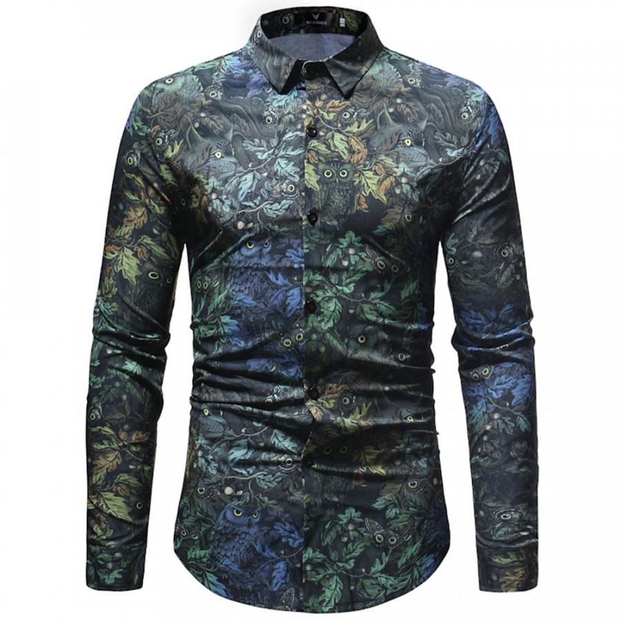 Casual Shirt Long Sleeved Shirt Fashion Cotton Cardigan Dress Warm