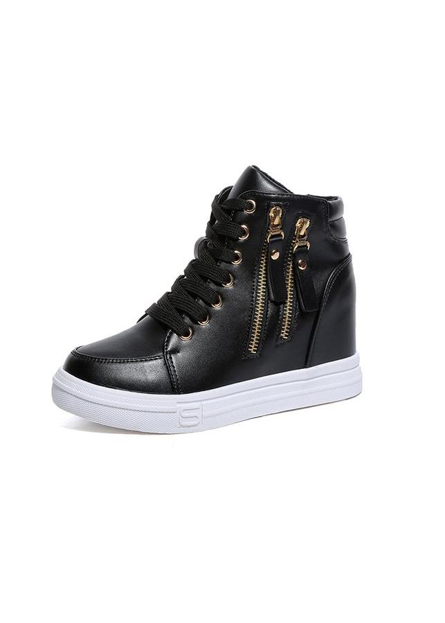 Giày boot nữ cổ cao cá tính BM065D - 4742171801753,62_2144239,320000,tiki.vn,Giay-boot-nu-co-cao-ca-tinh-BM065D-62_2144239,Giày boot nữ cổ cao cá tính BM065D