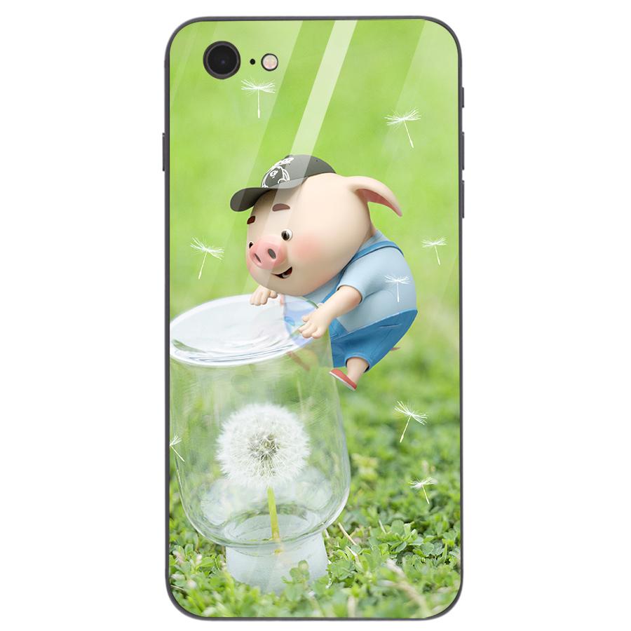 Ốp kính cường lực dành cho điện thoại iPhone 7/8 - heo hồng - hh001 - 4705445 , 5270232663976 , 62_15882590 , 206000 , Op-kinh-cuong-luc-danh-cho-dien-thoai-iPhone-7-8-heo-hong-hh001-62_15882590 , tiki.vn , Ốp kính cường lực dành cho điện thoại iPhone 7/8 - heo hồng - hh001
