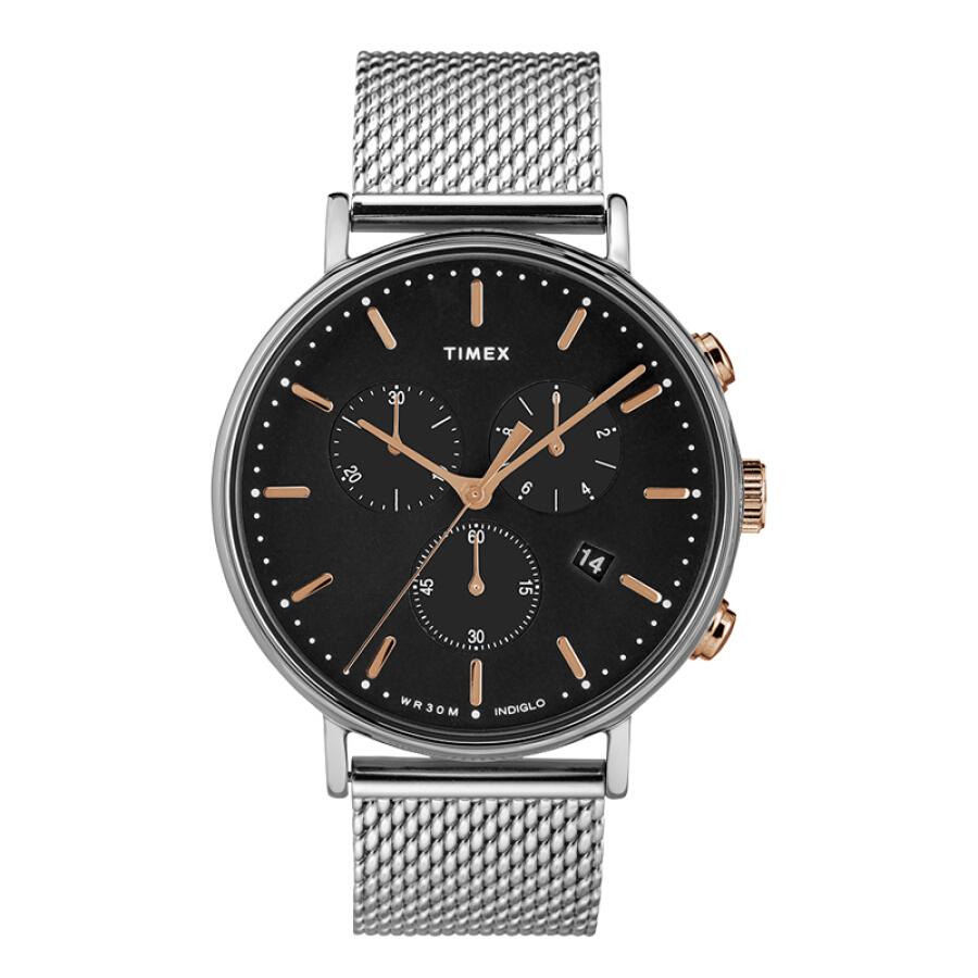 Tianmei TIMEX full-length luminous watch male classic steel belt waterproof quartz men