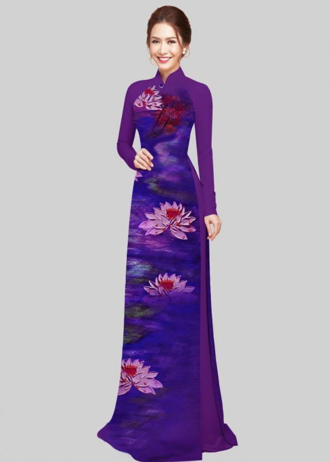 Vải áo dài in 3d hoa sen Xuân Hằng - 2264726 , 5964016086180 , 62_14520166 , 500000 , Vai-ao-dai-in-3d-hoa-sen-Xuan-Hang-62_14520166 , tiki.vn , Vải áo dài in 3d hoa sen Xuân Hằng