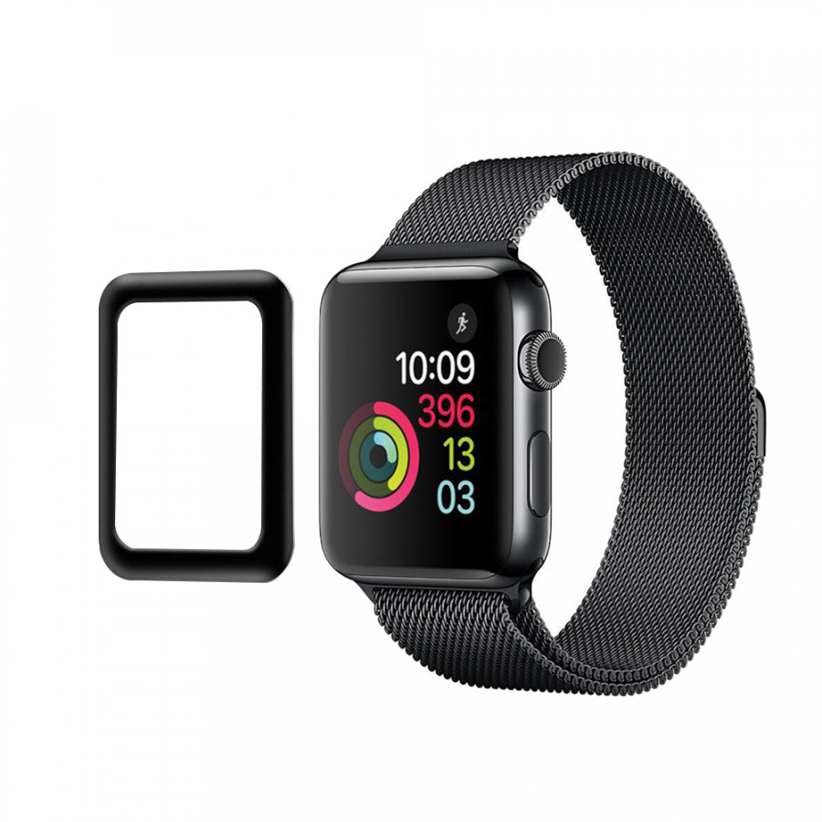 Link Dream 0.2mm Tempered Glass Screen Protector Cover for 38mm Apple Watch iWatch Series 3 Aluminum Alloy Frame High