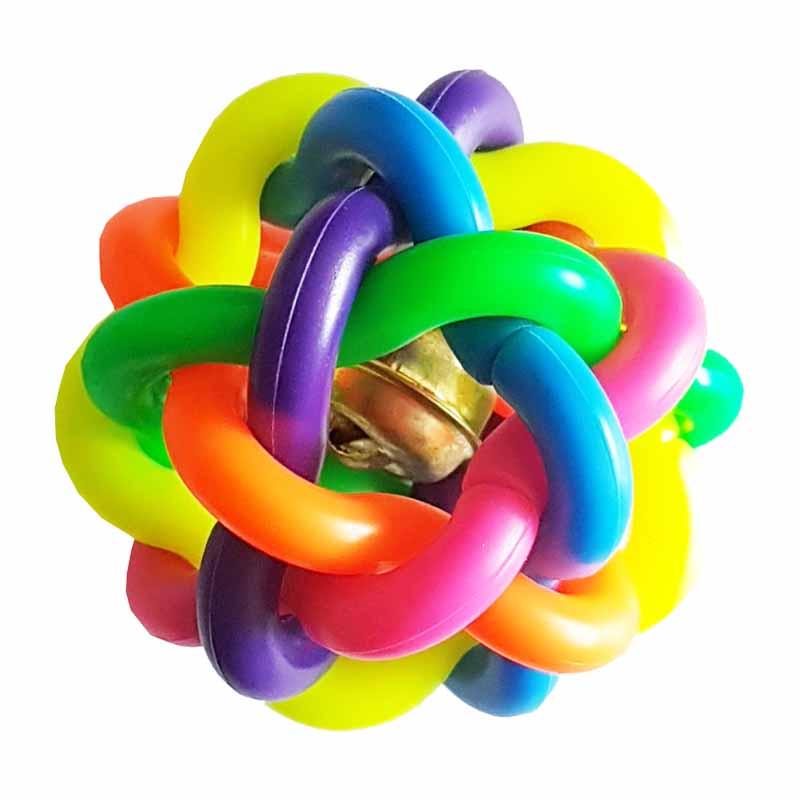 Banh bảy màu đồ chơi cho chó mèo