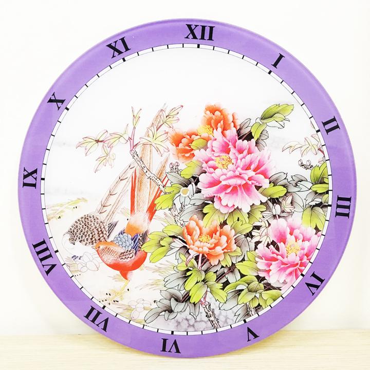 Đồng hồ hoa mẫu đơn kích tình duyên, hòa hợp vợ chồng