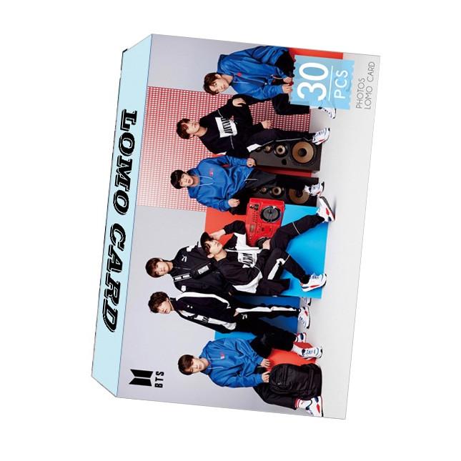Bộ lomo card BTS mới