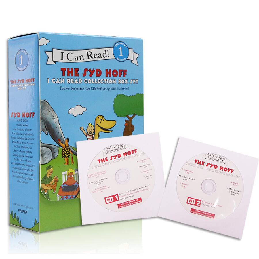 The Syd Hoff I Can Read Collection Box Set: 12 books and 2 CDs