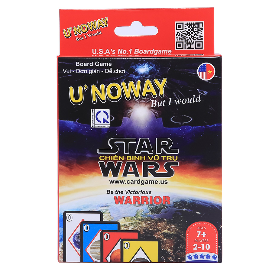 Thẻ Trò Chơi Uno – Phiên Bản Star Wars - 956743 , 8936056058141 , 62_2192201 , 129000 , The-Tro-Choi-Uno-Phien-Ban-Star-Wars-62_2192201 , tiki.vn , Thẻ Trò Chơi Uno – Phiên Bản Star Wars
