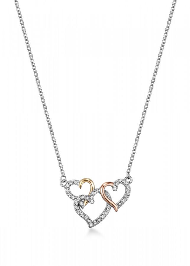 Dây chuyền Mestige Perpetual Love Trinity Necklace with Swarovski Crystals (43 cm)
