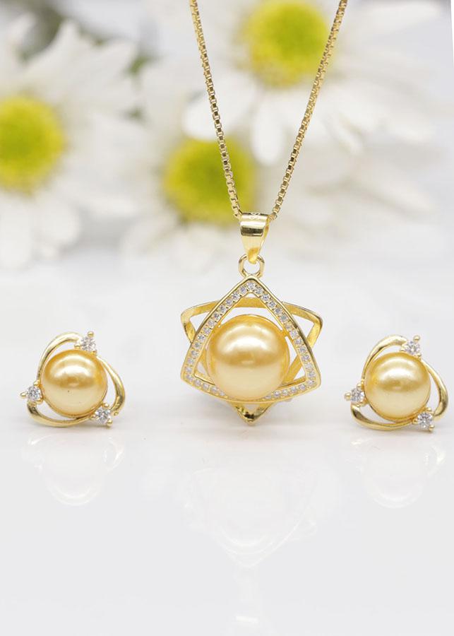 Bộ trang sức bạc nữ hạt ngọc mạ vàng 18k BV1606 Bảo Ngọc Jewelry - 6003435 , 5701342764272 , 62_7855527 , 655000 , Bo-trang-suc-bac-nu-hat-ngoc-ma-vang-18k-BV1606-Bao-Ngoc-Jewelry-62_7855527 , tiki.vn , Bộ trang sức bạc nữ hạt ngọc mạ vàng 18k BV1606 Bảo Ngọc Jewelry