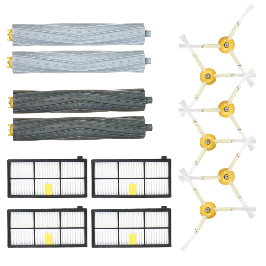 Pack of 14 Replacement Accessories Kit for iRobot Roomba 800  900 Series 805 860 861 864 866 870 880 890 891 894 960 - 1292060 , 4840376878522 , 62_13938232 , 554000 , Pack-of-14-Replacement-Accessories-Kit-for-iRobot-Roomba-800-900-Series-805-860-861-864-866-870-880-890-891-894-960-62_13938232 , tiki.vn , Pack of 14 Replacement Accessories Kit for iRobot Roomba 800