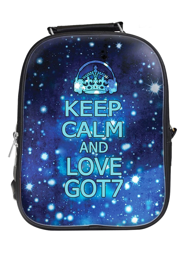 Balo Nữ In Hình Keep Calm And Love GOT7 - BLKLK037