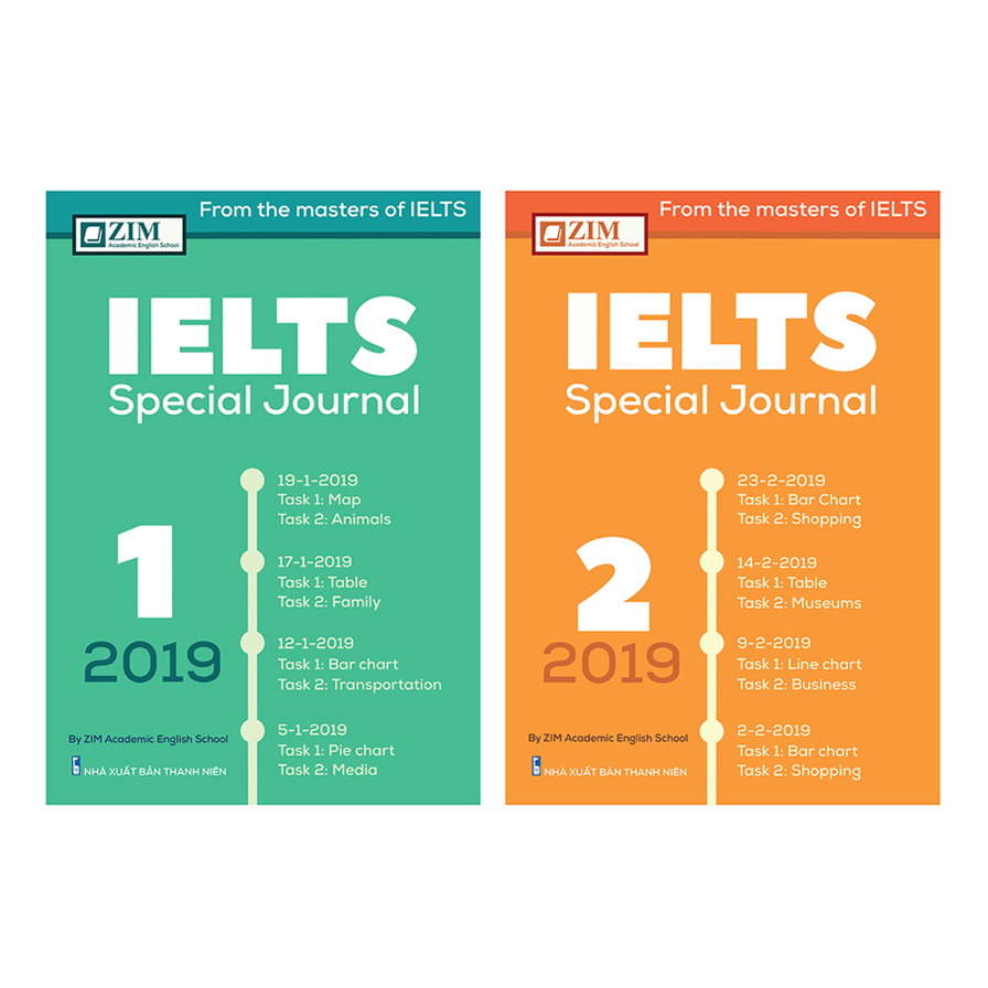 Combo IELTS Special Journal ( 2 cuốn )