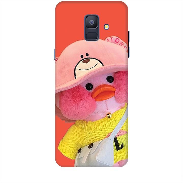 Ốp lưng dành cho điện thoại  SAMSUNG GALAXY A6 2018 Vịt Con Dễ Thương Mẫu 1