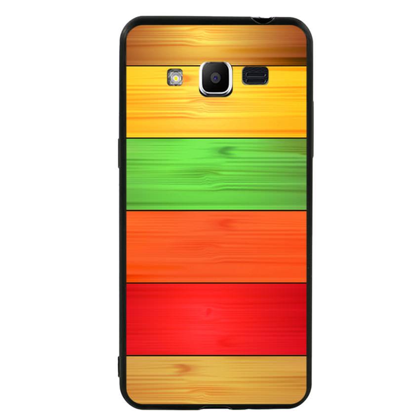 Ốp lưng nhựa cứng viền dẻo TPU cho điện thoại Samsung Galaxy J2 Prime - Sắc Màu