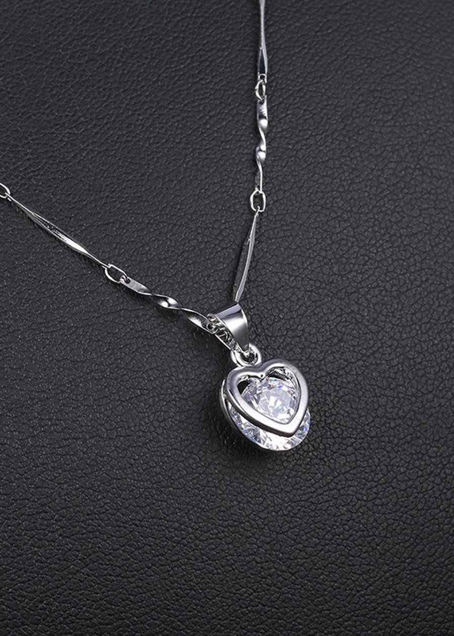 Dây chuyền nữ Trái tim kèm hộp - OBI.DC20HK