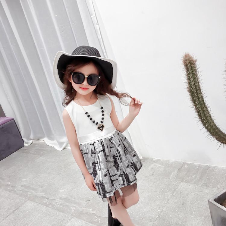 Đầm xòe bé gái phong cách -TTMS922