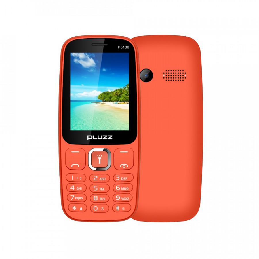 Điện Thoại Di Động PLUZZ P5130 (2 Sim 2.4Inch 2G GSM FM 800mAh)