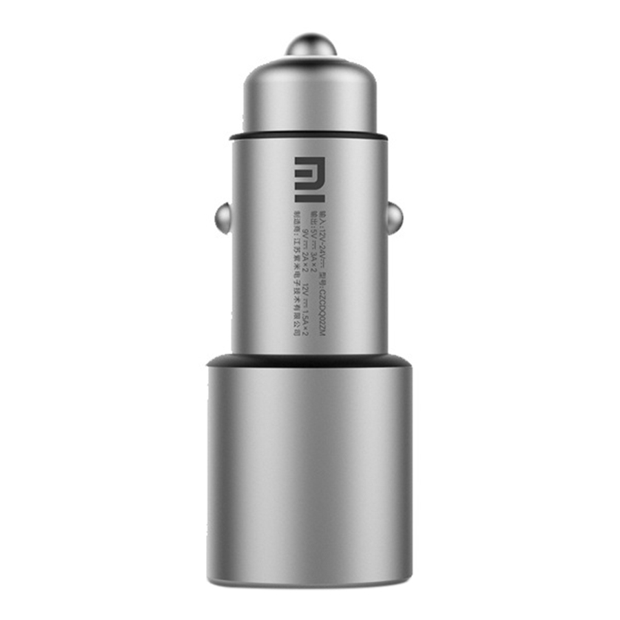 Original Xiaomi USB Car Charger Quick Charge Dual USB 3.0 Conversion Rate for Xiaomi A2 Lite Mi 8 Note 5