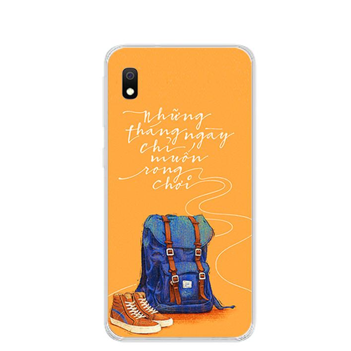Ốp lưng dẻo cho điện thoại Samsung Galaxy A10 - 0215 NGAYTHANGRONGCHOI - Hàng Chính Hãng
