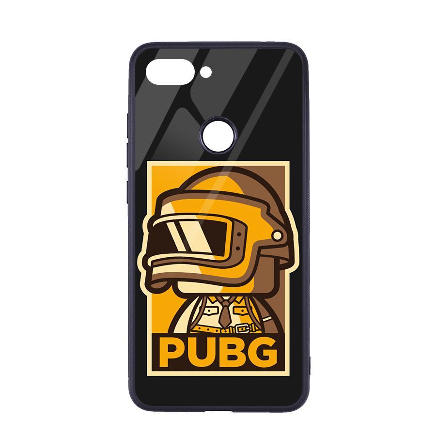 Ốp Lưng Kính Cường Lực Cho Xiaomi Mi 8 Lite Game PUBG Phần A - Hàng Chính Hãng