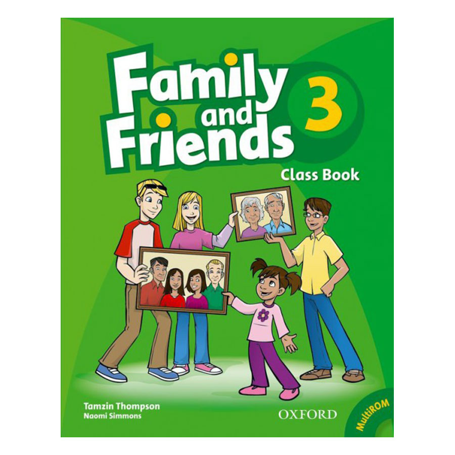 Family And Friends (Bre) (1 Ed.) 3: Class Book And Multirom Pack - 883063 , 9512044749438 , 62_3877503 , 162000 , Family-And-Friends-Bre-1-Ed.-3-Class-Book-And-Multirom-Pack-62_3877503 , tiki.vn , Family And Friends (Bre) (1 Ed.) 3: Class Book And Multirom Pack