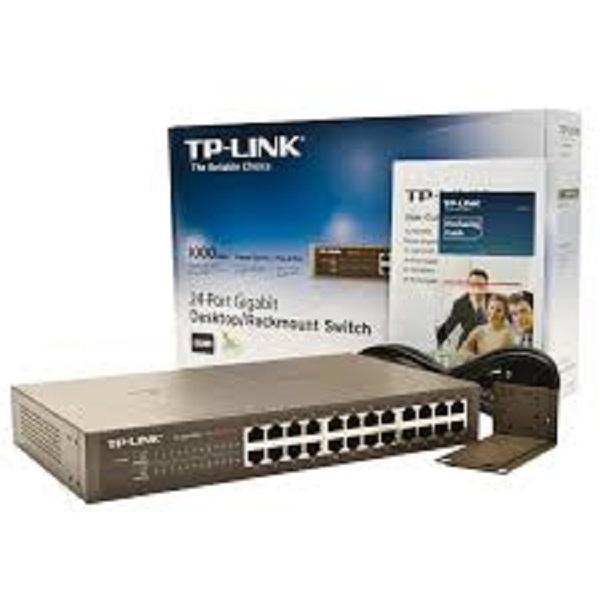Switch TP LINK SG1024 Gigabit. Bộ chia mạng 24 cổng. Hàng chính hãng.