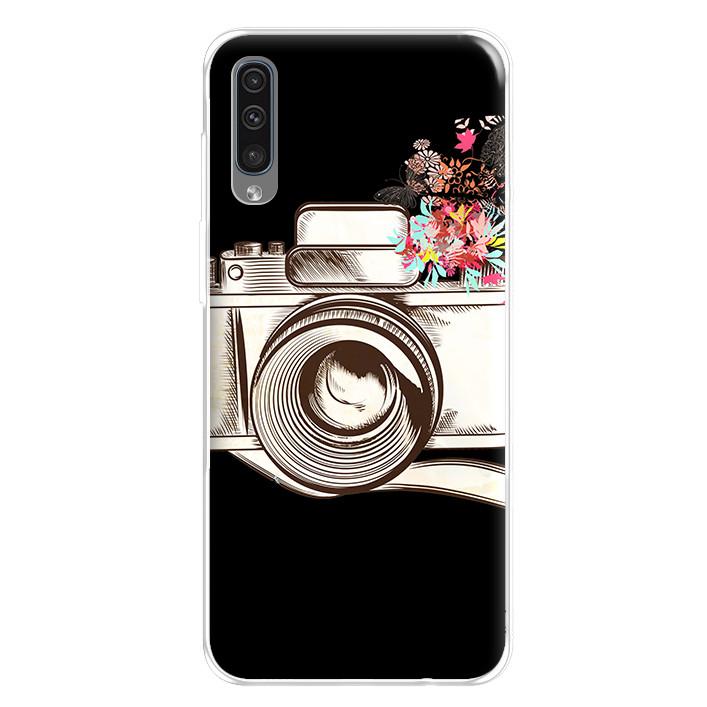 Ốp lưng dẻo cho điện thoại Samsung Galaxy A50 - 224 0078 CAMERA01