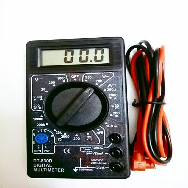 Đồng hồ đo VOM vạn năng điện tử DT-830D kèm bin