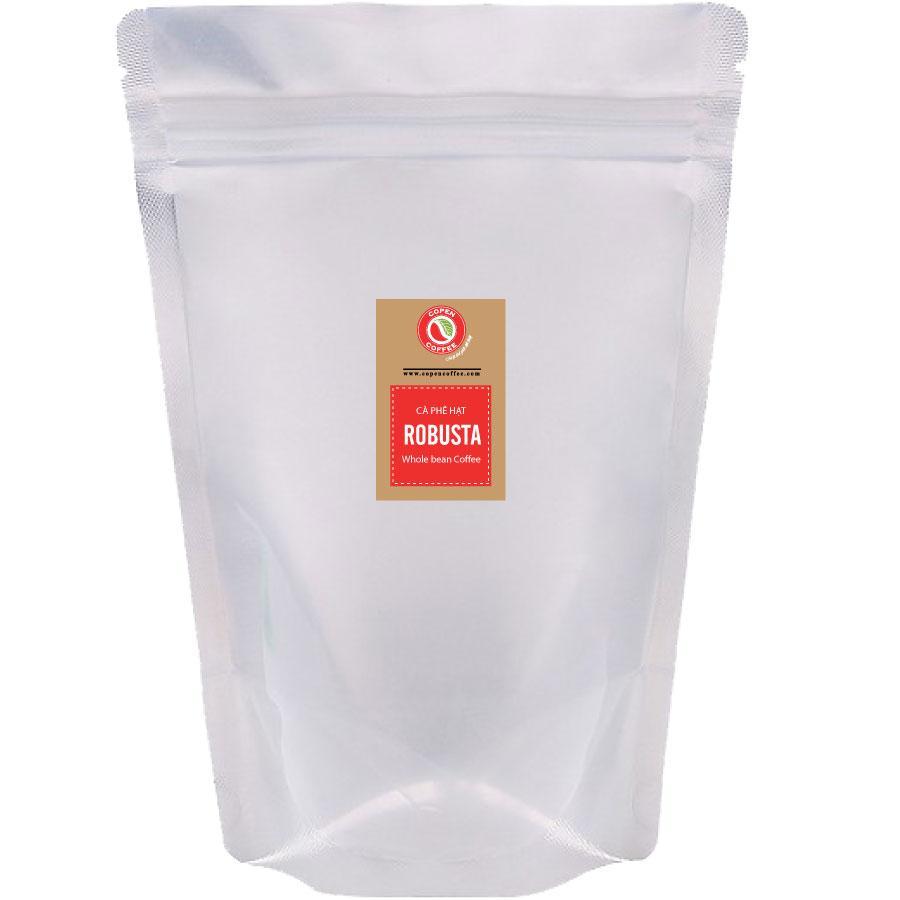 Cà phê hạt Copen Coffee Robusta 1kg