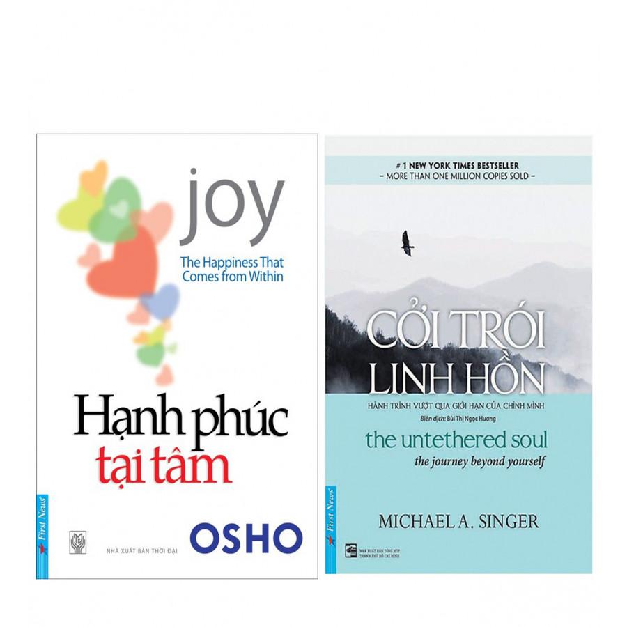 Combo Hạnh Phúc Tại Tâm (The Happiness That Comes From Within) - Tái Bản + Cởi Trói Linh Hồn