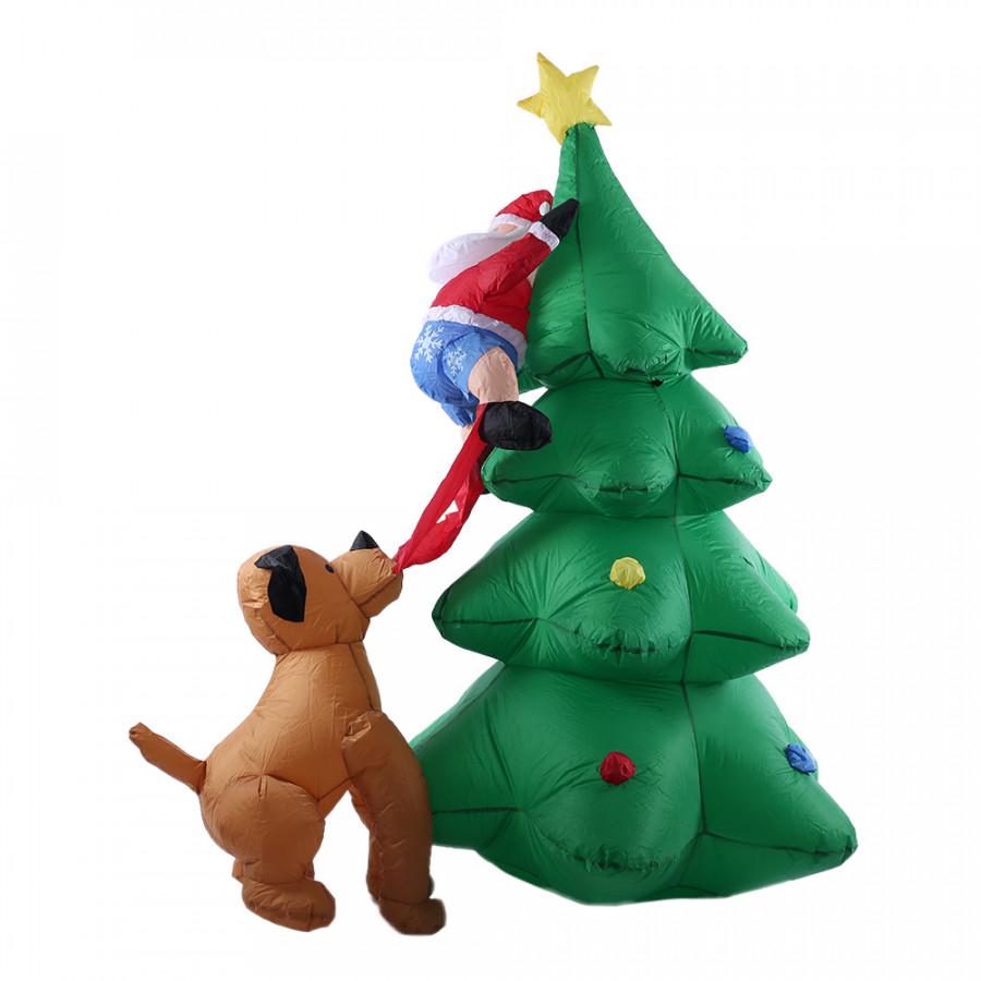 Cây Thông Giáng Sinh Bơm Hơi Trang Trí Noel (Cao 1M8) - 7102891 , 3696275452599 , 62_13997198 , 1460000 , Cay-Thong-Giang-Sinh-Bom-Hoi-Trang-Tri-Noel-Cao-1M8-62_13997198 , tiki.vn , Cây Thông Giáng Sinh Bơm Hơi Trang Trí Noel (Cao 1M8)
