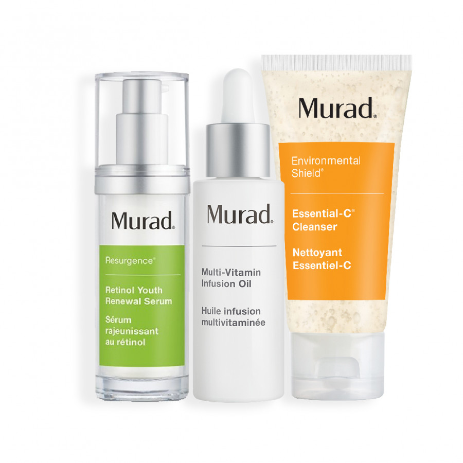 Bộ serum hồi sinh làn da lão hóa ( Murad Retinol Youth Renewal Serum  30ml + Dầu dưỡng da đa vitamin Multi Vitamin Infusion Oil... - 7464492 , 6313178151486 , 62_15695842 , 5274000 , Bo-serum-hoi-sinh-lan-da-lao-hoa-Murad-Retinol-Youth-Renewal-Serum-30ml-Dau-duong-da-da-vitamin-Multi-Vitamin-Infusion-Oil...-62_15695842 , tiki.vn , Bộ serum hồi sinh làn da lão hóa ( Murad Retinol Y