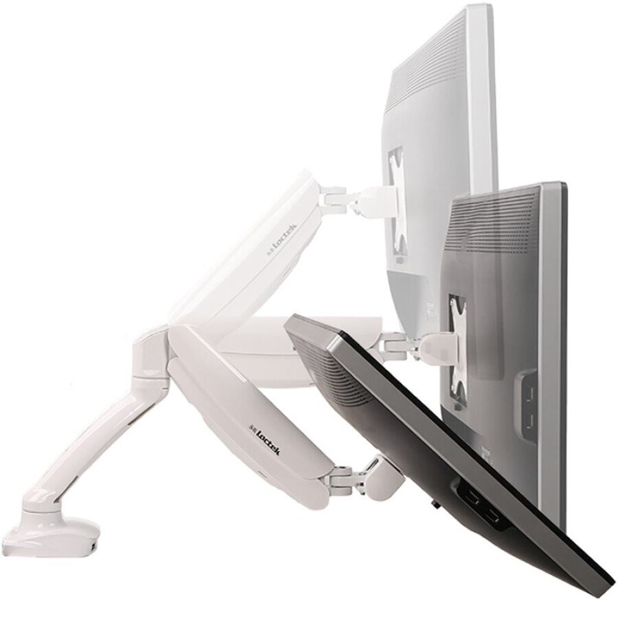 Loctek DLB502W Computer Bracket Display Bracket Ergonomic Bracket Full Dimensions Gas Spring Bracket 10-27 Inch White - 772043 , 9304462359432 , 62_10466197 , 1099000 , Loctek-DLB502W-Computer-Bracket-Display-Bracket-Ergonomic-Bracket-Full-Dimensions-Gas-Spring-Bracket-10-27-Inch-White-62_10466197 , tiki.vn , Loctek DLB502W Computer Bracket Display Bracket Ergonomic B