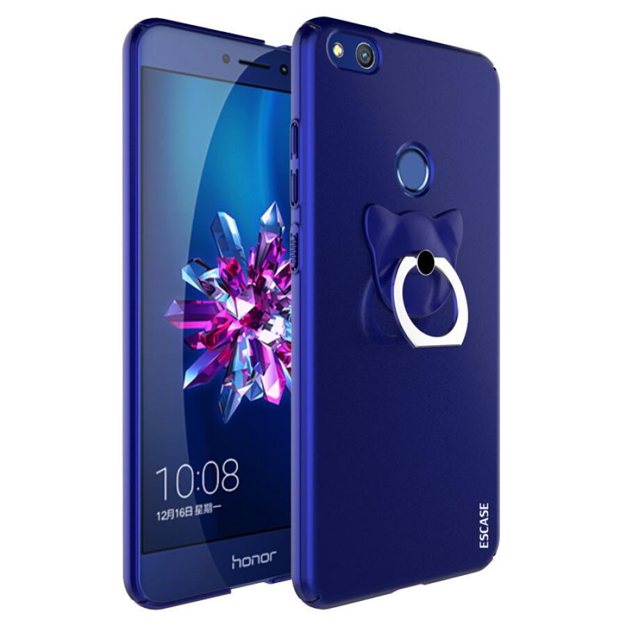 Ốp Lưng Nhựa Cứng ESCASE Dành Cho Điện Thoại Huawei Glory 8 - Phiên Bản Trẻ Trung, Xanh Đại Dương, Có Khóa Tay