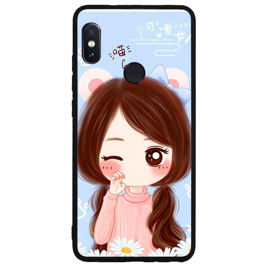 Ốp lưng viền TPU cao cấp cho điện thoại Xiaomi Redmi Note 5 -Baby Girl