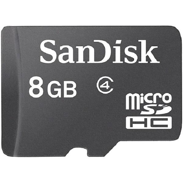 Thẻ nhớ Sandisk ultra micro SDHC 8GB C4