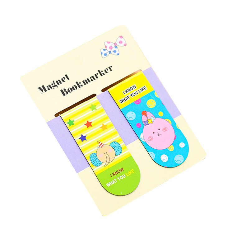 Bộ 2 bookmark nam châm Animal A-317