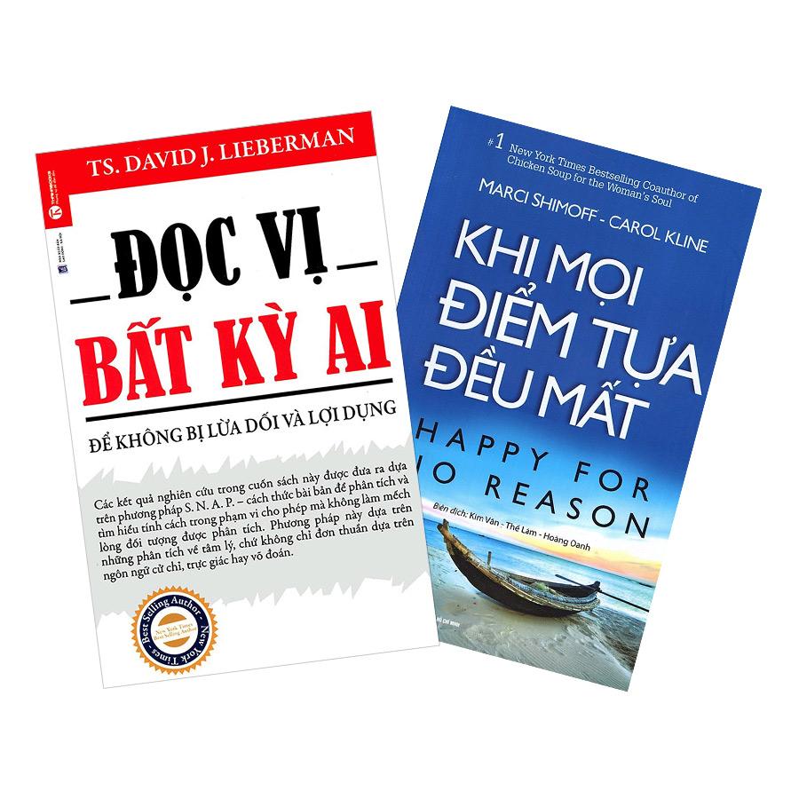 Combo Đọc Vị Bất Kỳ Ai + Khi Mọi Điểm Tựa Đều Mất (2 cuốn)