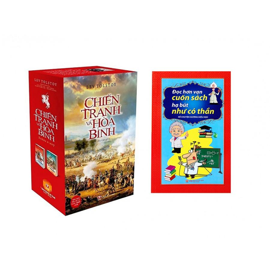 Combo Chiến Tranh Và Hoà Bình (Trọn Bộ 02 Tập) + Đọc Hơn Vạn Cuốn Sách Hạ Bút Như Có Thần