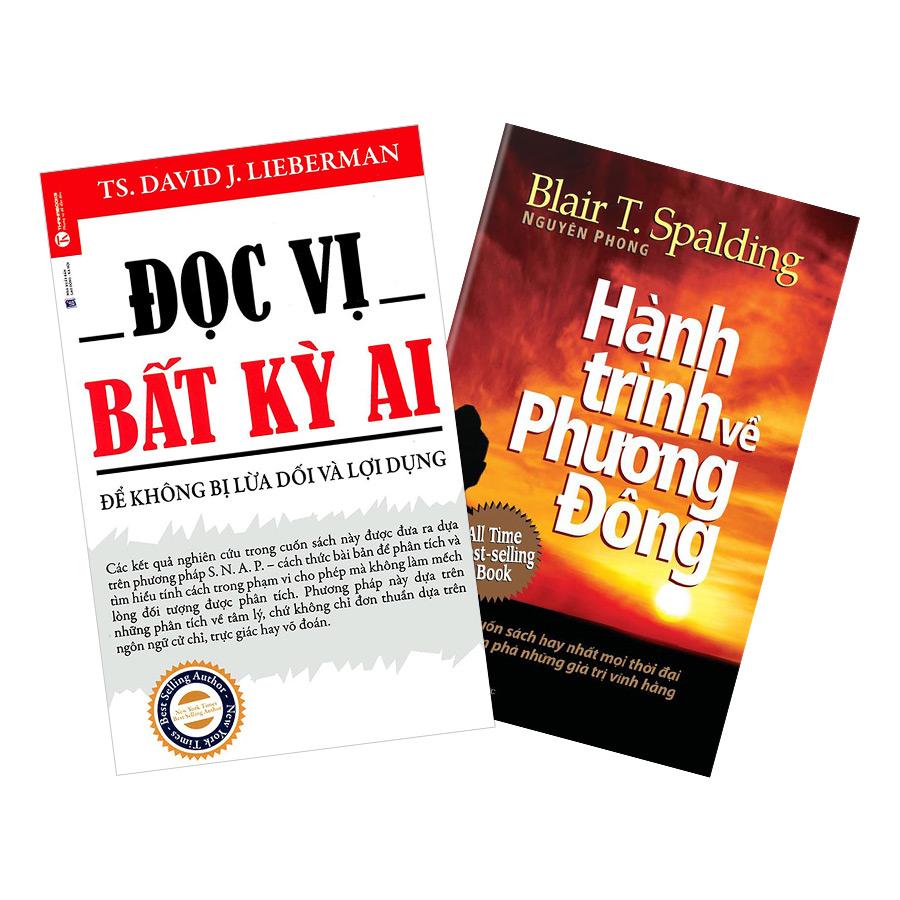 Combo Đọc Vị Bất Kỳ Ai + Hành Trình Về Phương Đông - khổ nhỏ (2 cuốn)