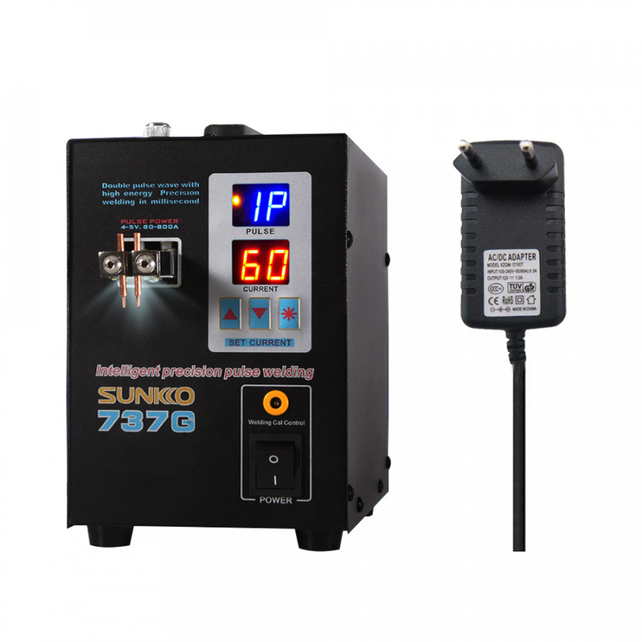 Dual Mode Pedal Battery Spot Welder Dual Pulse Dual Display Precision Battery Touch Welders Spot Welding Machine - 5116452 , 5028158739486 , 62_16400000 , 2885000 , Dual-Mode-Pedal-Battery-Spot-Welder-Dual-Pulse-Dual-Display-Precision-Battery-Touch-Welders-Spot-Welding-Machine-62_16400000 , tiki.vn , Dual Mode Pedal Battery Spot Welder Dual Pulse Dual Display Pre