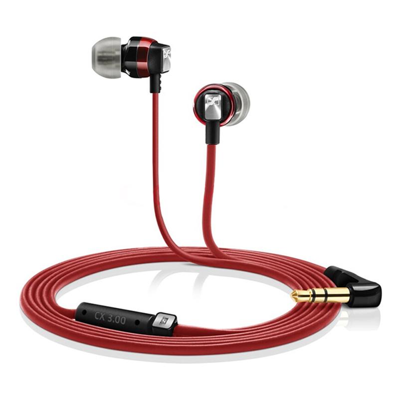SENNHEISER CX 3.00 3.5mm In-ear Headphones Dynamic Headset Stereo Sound Heavy Bass Earphone with 1.2m Cable for Phones - 2162872 , 6274372511295 , 62_13836567 , 929000 , SENNHEISER-CX-3.00-3.5mm-In-ear-Headphones-Dynamic-Headset-Stereo-Sound-Heavy-Bass-Earphone-with-1.2m-Cable-for-Phones-62_13836567 , tiki.vn , SENNHEISER CX 3.00 3.5mm In-ear Headphones Dynamic Headset