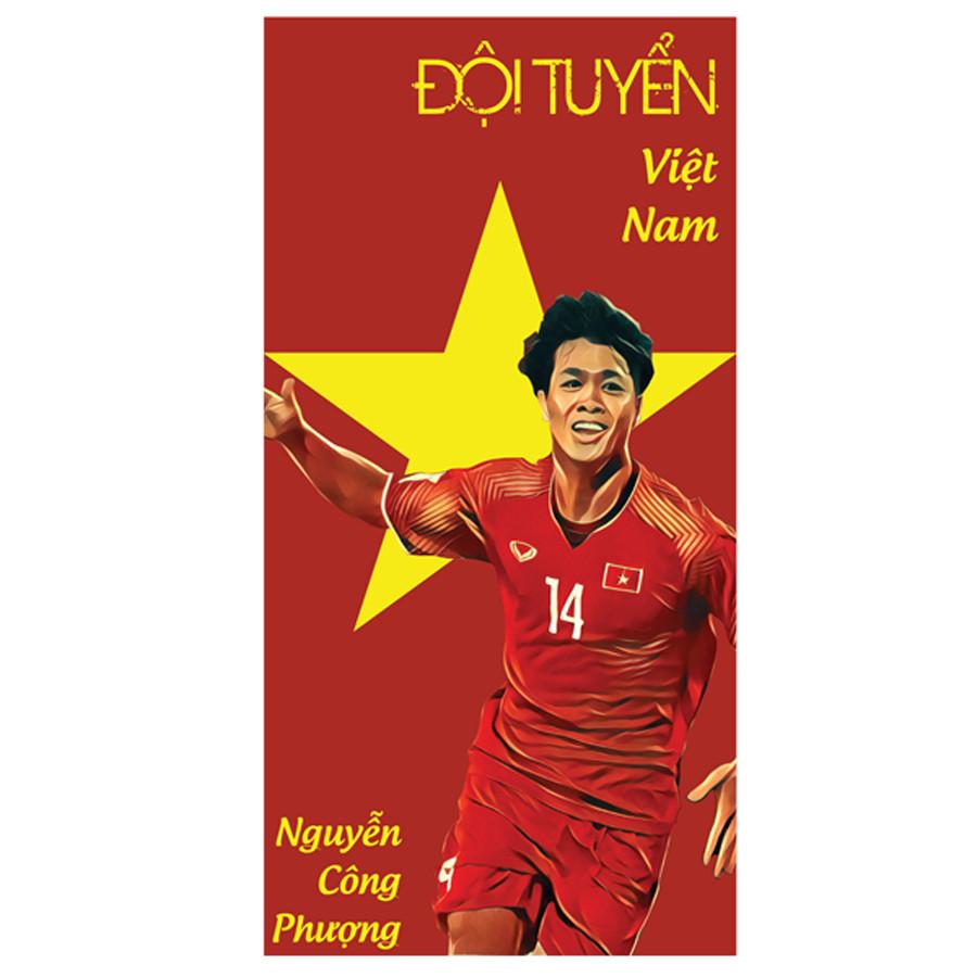 Set 6 Chiếc Lì Xì Nguyễn Công Phượng - Đội Tuyển Việt Nam