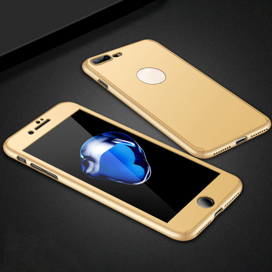360 Degree Hard PC Protective Shell Full Body Cover Mobile Phone Case with Tempered Glass Screen Protector - 2289794 , 4297582067194 , 62_14704440 , 181000 , 360-Degree-Hard-PC-Protective-Shell-Full-Body-Cover-Mobile-Phone-Case-with-Tempered-Glass-Screen-Protector-62_14704440 , tiki.vn , 360 Degree Hard PC Protective Shell Full Body Cover Mobile Phone Case