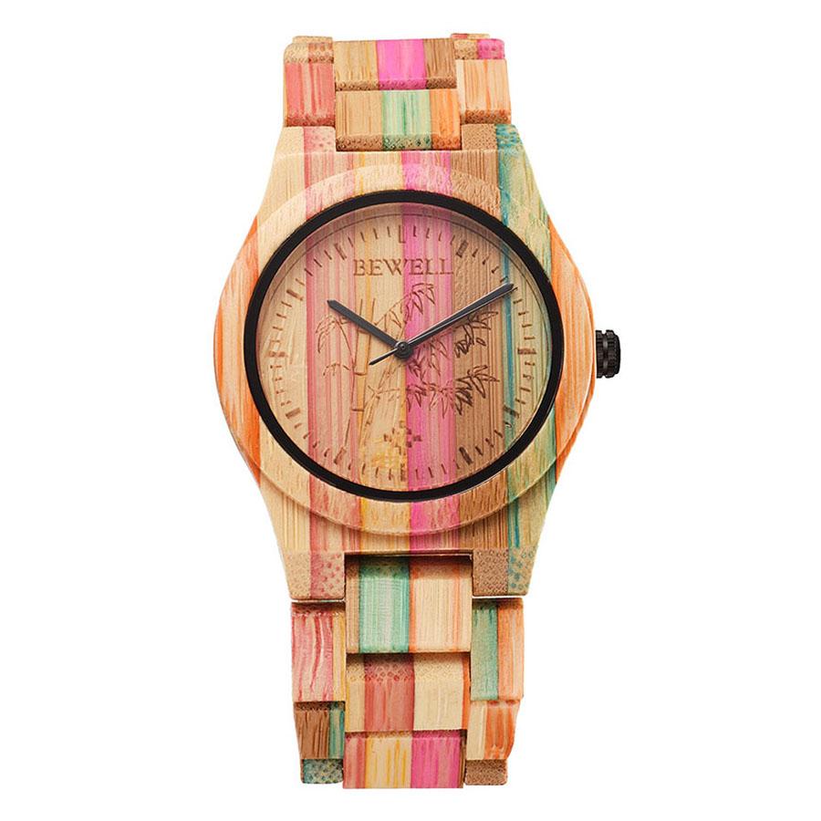 BEWELL Hypoallergenic Environmental Friendly Wooden Bamboo Watch Immaculate Classy Quartz Analog Unisex Wristwatch - 2168760 , 6361668214517 , 62_13892708 , 887000 , BEWELL-Hypoallergenic-Environmental-Friendly-Wooden-Bamboo-Watch-Immaculate-Classy-Quartz-Analog-Unisex-Wristwatch-62_13892708 , tiki.vn , BEWELL Hypoallergenic Environmental Friendly Wooden Bamboo Wat