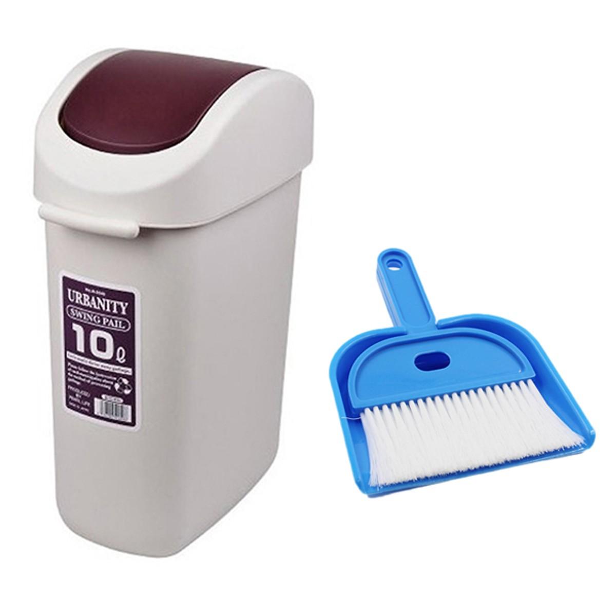 Combo vệ sinh nhà cửa: Thùng rác + bộ hót rác nhỏ gọn - Japan - 16173441 , 8559289969802 , 62_22560442 , 450000 , Combo-ve-sinh-nha-cua-Thung-rac-bo-hot-rac-nho-gon-Japan-62_22560442 , tiki.vn , Combo vệ sinh nhà cửa: Thùng rác + bộ hót rác nhỏ gọn - Japan