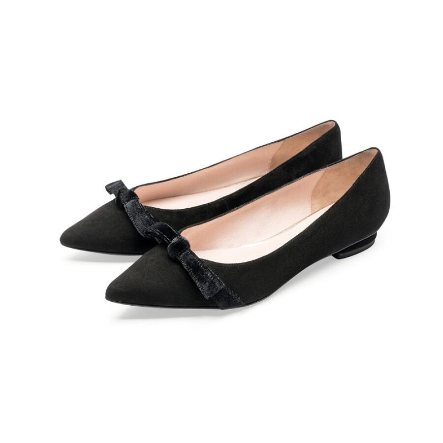 Giày Búp Bê Nữ Mũi Nhọn Le Saunda LS-9T10327
