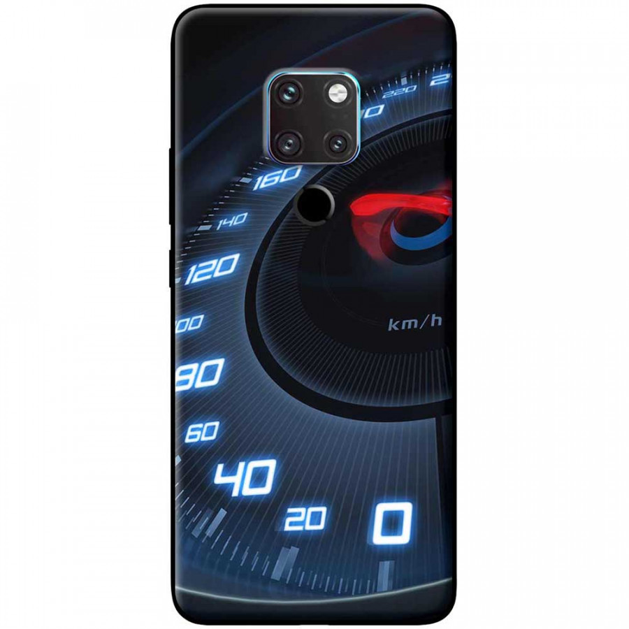 Ốp lưng dành cho Huawei Mate 20 mẫu Đồng hồ tốc độ xanh