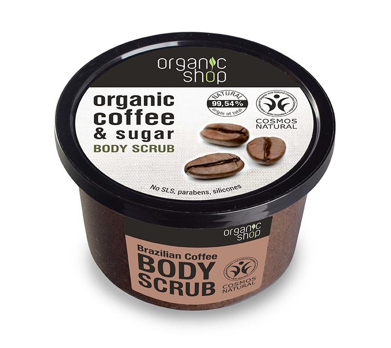Tẩy Tế Bào Chết Toàn Thân Organic Shop Organic Coffee  Sugar Body Scrub 250ml